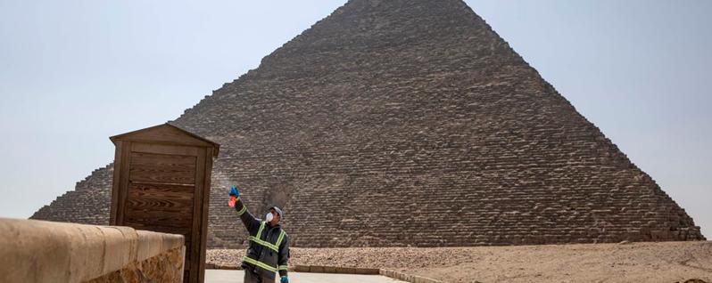 Наразі в Єгипті дозволений лише внутрішній туризм. Фото АР