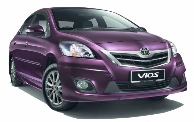 Toyota Vios 2012 Overview