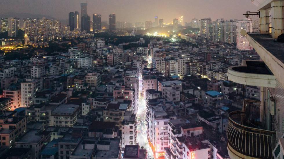 O bairro de Baishizhou, em Shenzhen