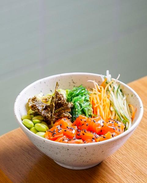 HONU Hono-Lulu Poke Bowl