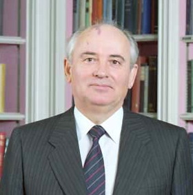 Moscow: Mikhail Gorbachev ...