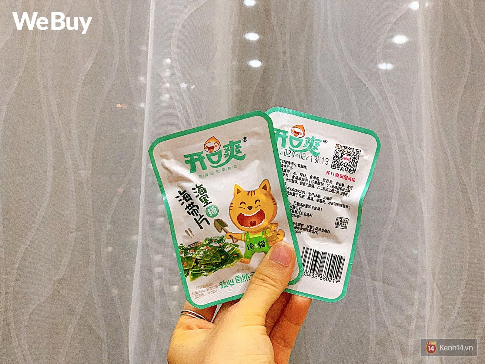 """Review set đồ ăn vặt nội địa Trung Quốc hot hit gần đây: Lung linh hấp dẫn là thế nhưng ăn thử mới thấy như bị... """"lừa tình"""" - Ảnh 8."""