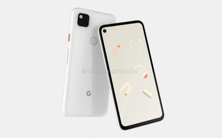 Google Pixel 4a renders show punch-hole display and square camera cutout