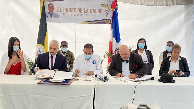 Fundación Cruz Jiminián, Dios de Pacto y Medolife Corporation firman pacto filántropico