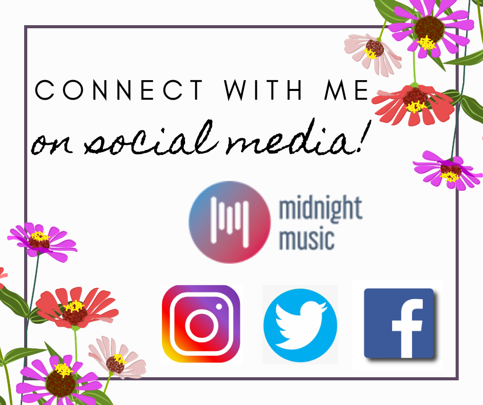 Commect with me on Social Media