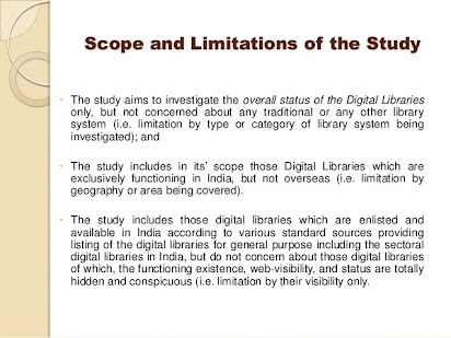 scope and limitation of the study example thesis