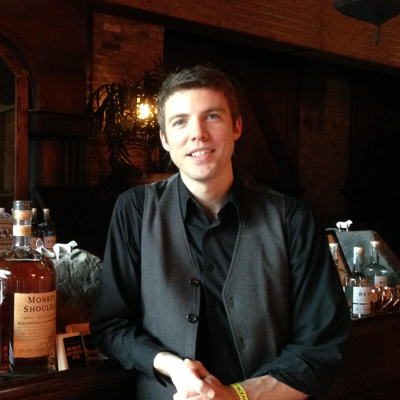 Justin Durling, owner of Cocktail Kits 2 Go.