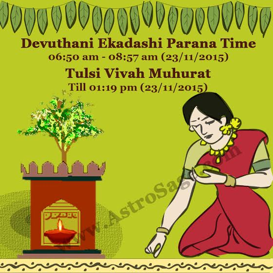 Dev Uthani Ekadashi is the end of Chaturmas and beginning of auspicious season.