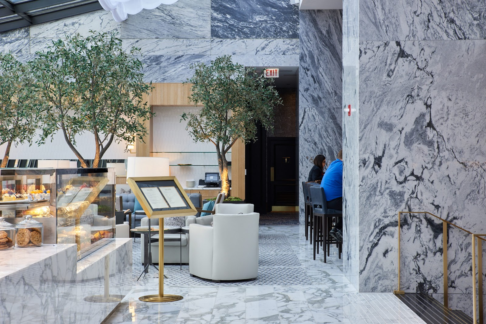 Ritz-Carlton Wraps Its Lobby in the Thinnest Marble Slabs on the Market
