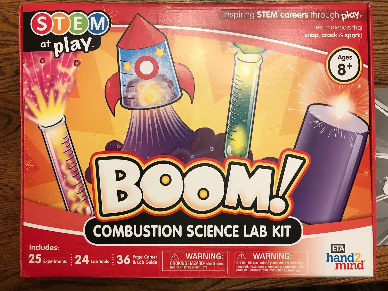 Combustion Science Lab Kit by Megan – NCS STEM Blog