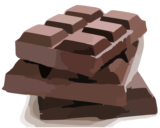Bar Chocolate, Brown, Sweet,