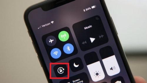 Sửa lỗi iPhone XS bị mất cảm biến xoay