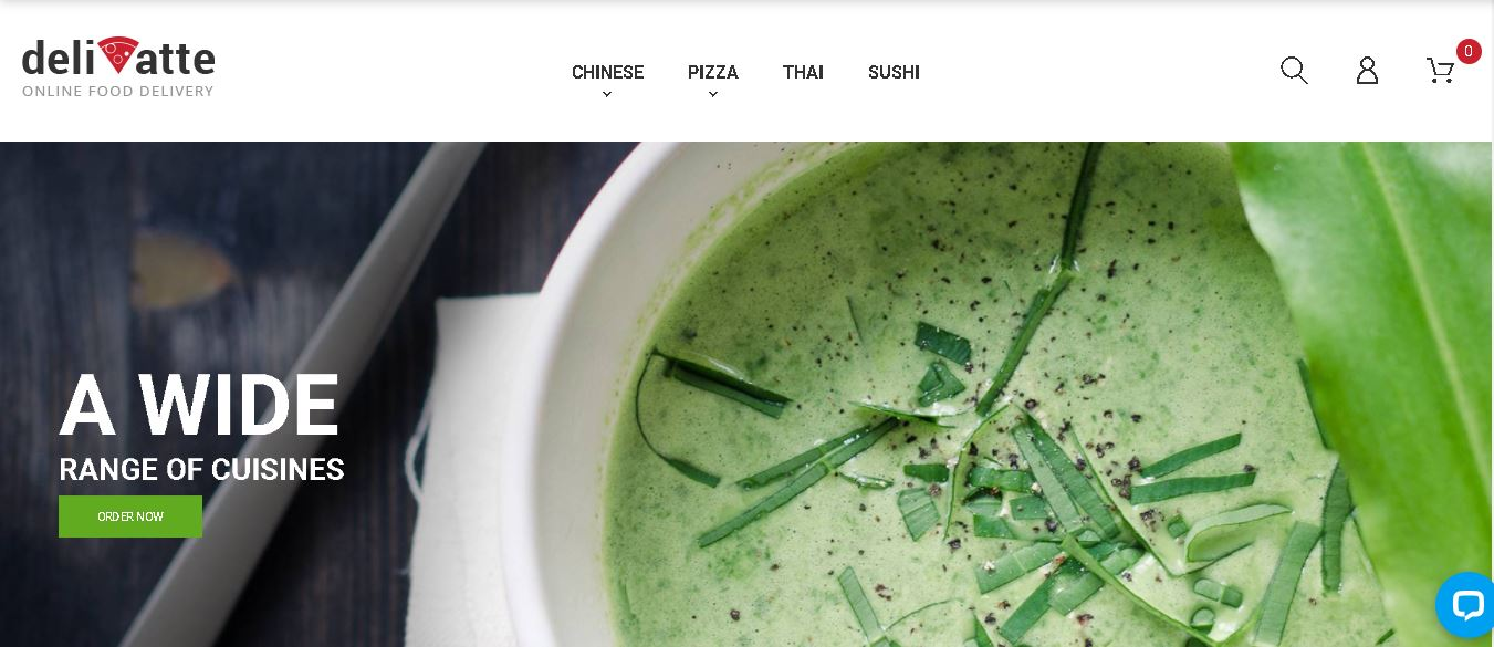 Fruits and vegetables magento theme Deliatte