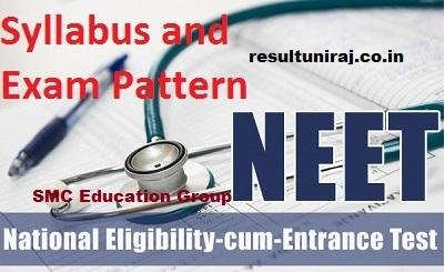 NEET Syllabus 2019, CBSE NEET UG Exam syllabus