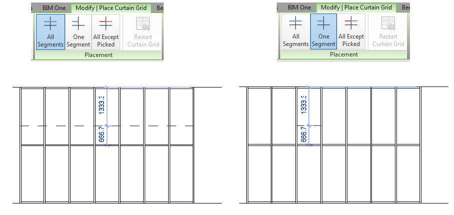 Facades Modelling - Operation in Revit - Modelical