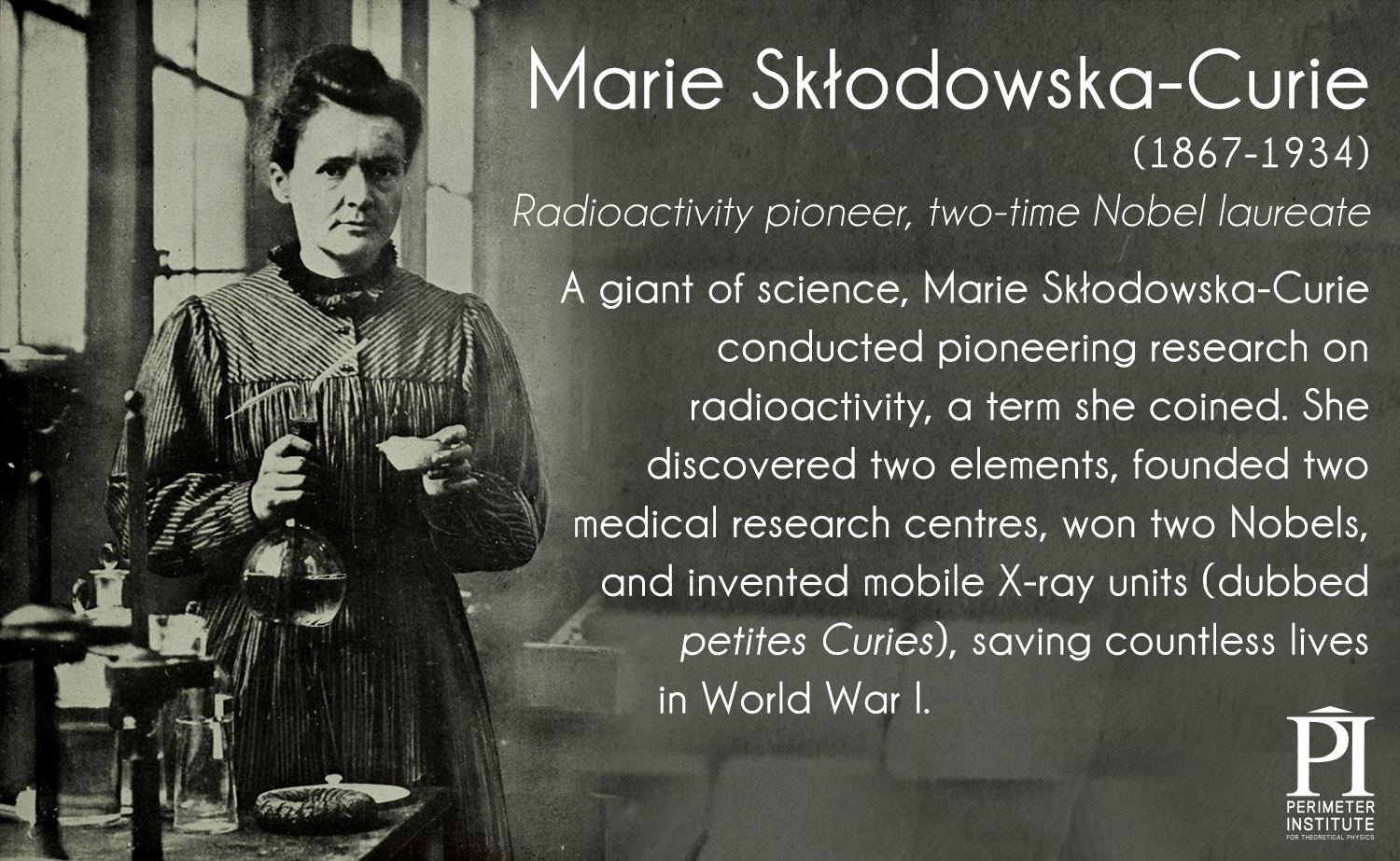 the life and contributions of marie sklodowska curie I reread skłodowska curie's biography recently, and she certainly deserves her  place of honour in any list of leading scientists her work.