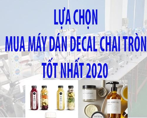 may dan nhan chai tron