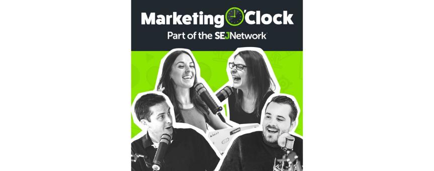 Marketing O'Clock - Your Weekly Digital Marketing News Podcast  Podcasts logo