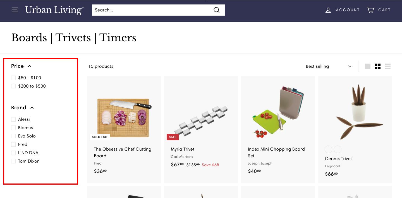 ショップで取り扱う商品数が多い場合、ユーザーは求めている商品に辿り着きにくくなります。そんなショップに必要な機能が絞り込み検索です。