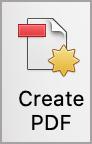 Create PDF button.