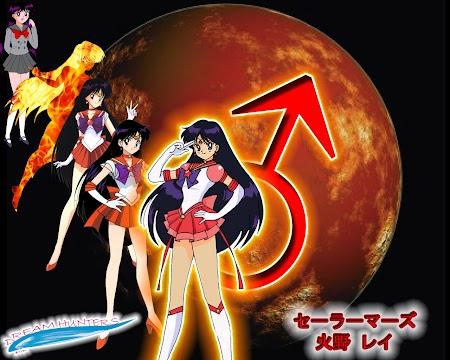 Hino Rei - Sailor Mars
