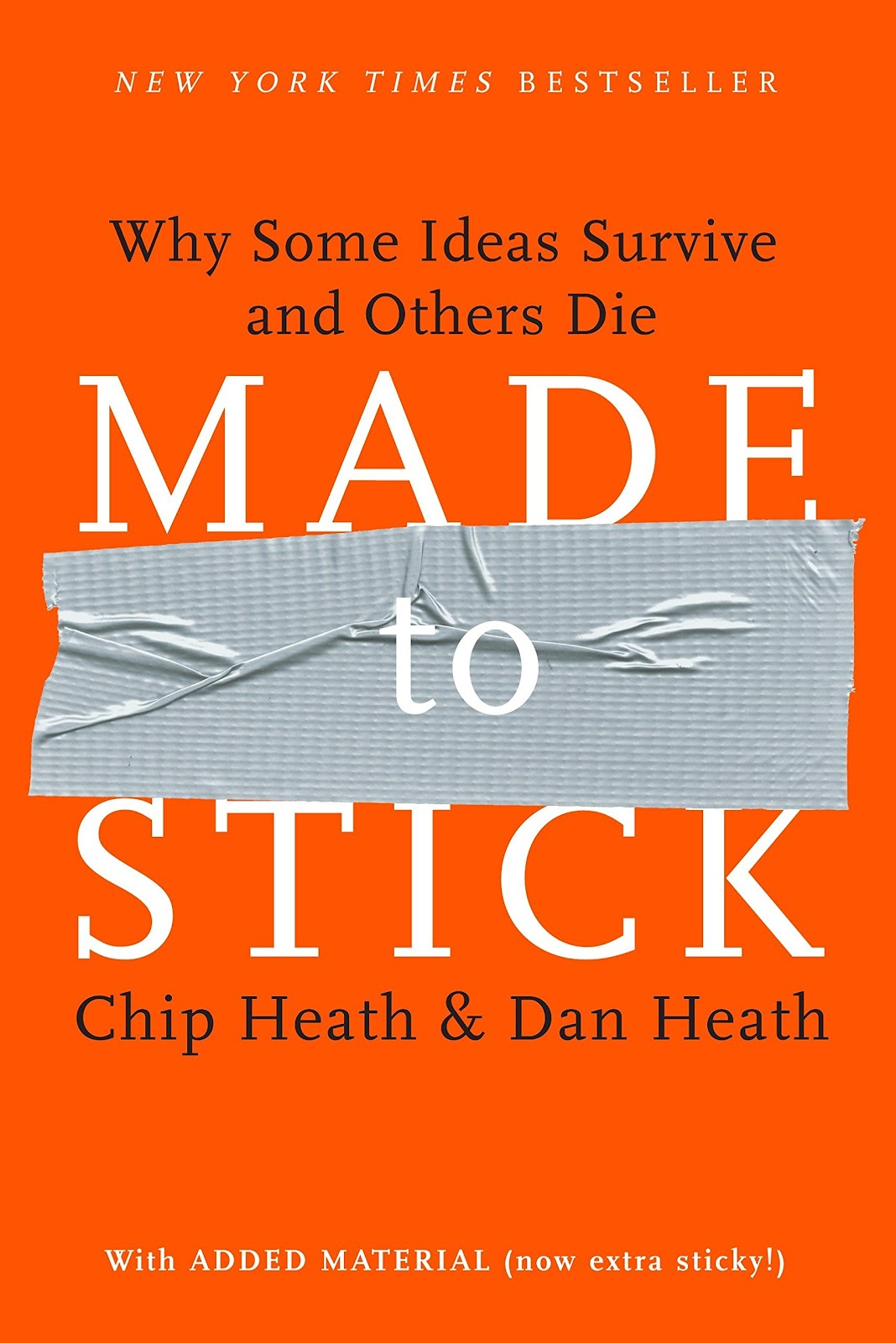 Made to Stick: Why Some Ideas Survive and Others Die by Chip and Dan Heath