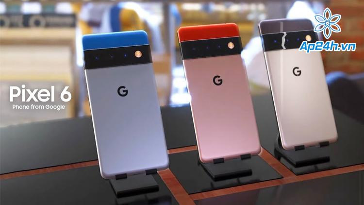 Dòng điện thoại mới của Google