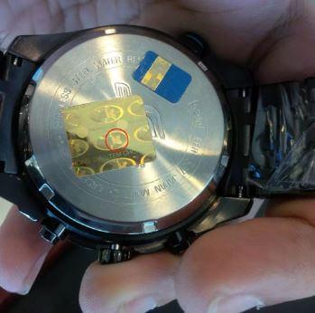 phân biệt đồng hồ Casio chính hãng thật giả