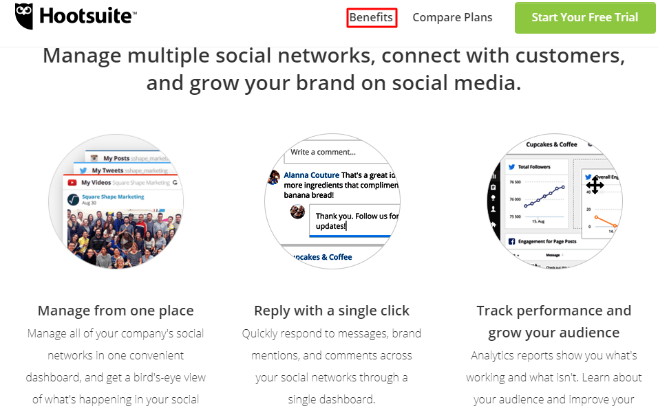 hootsuite a free social media tool to get free traffic