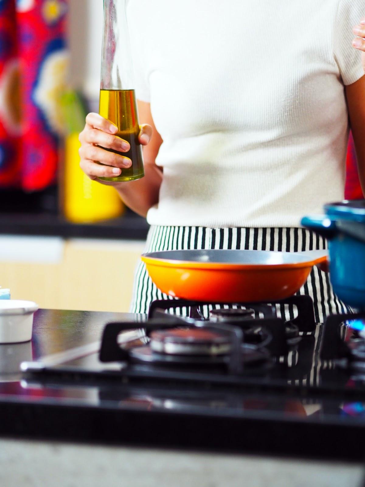 Kann ich kaltgepresstes Öl zum Braten verwenden?