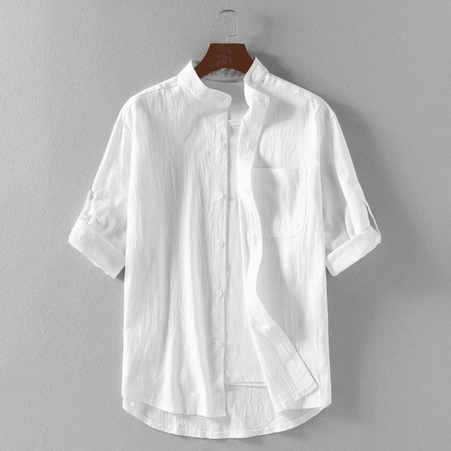 white shirt for men summer