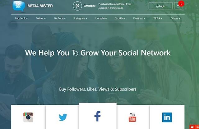 App Media Mister hỗ trợ người dùng Tiktok tăng tương tác hiệu quả