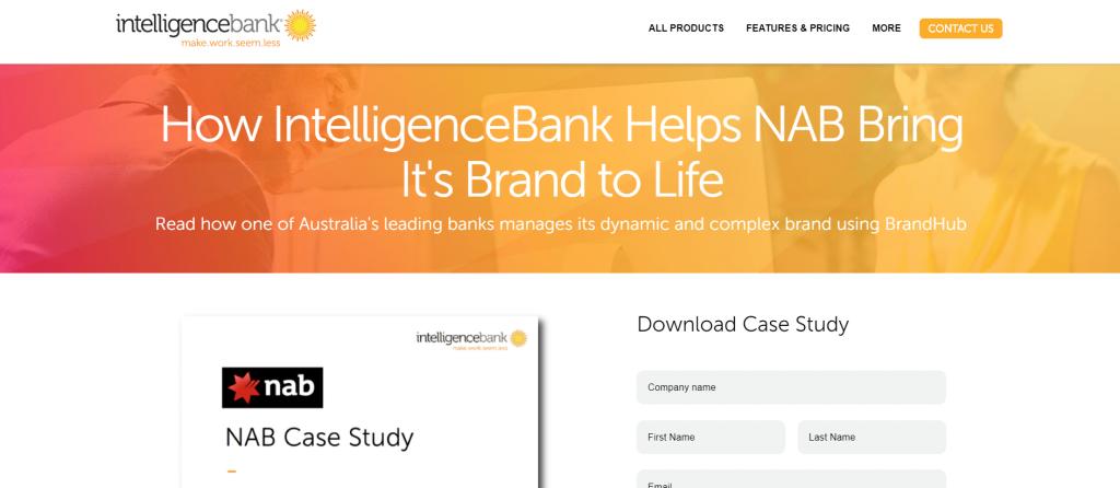 Intelligencebank case study