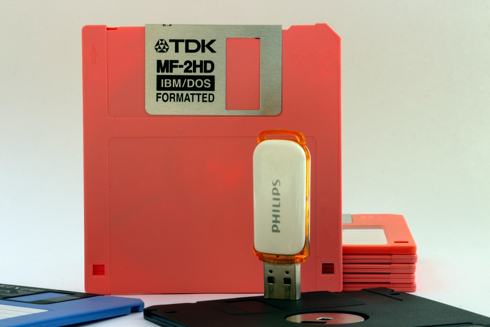 floppy disks are outdated technology