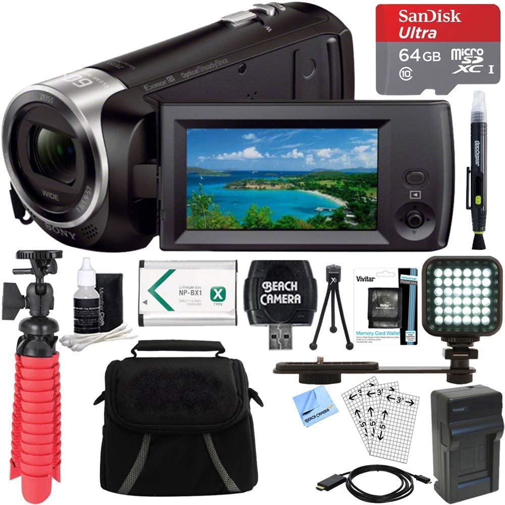 Sony HDR-CX405/B Full HD 60p Camcorder
