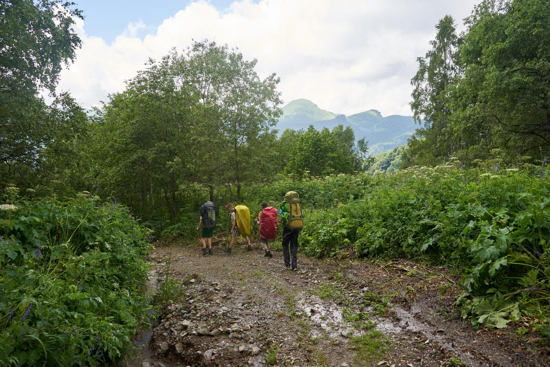 Отчет о пешем походе по Краснодарскому краю
