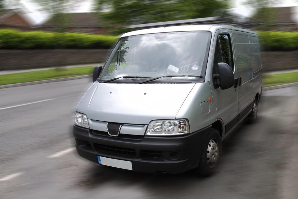 Van, Automobile, Business, Car, Cargo, Drive, Freight
