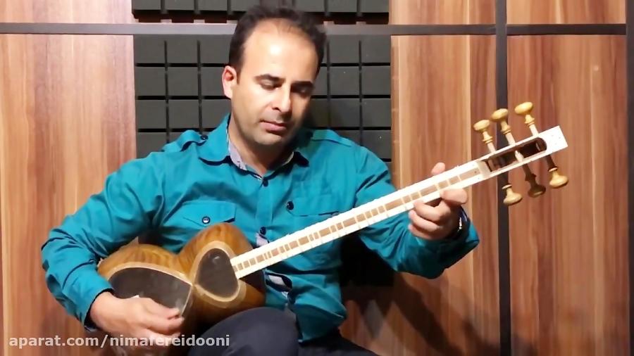 فیلم آموزش زیرکش سلمک شور گزیده ردیف موسیقی ملی ایران کیوان ساکت . تار نیما فریدونی