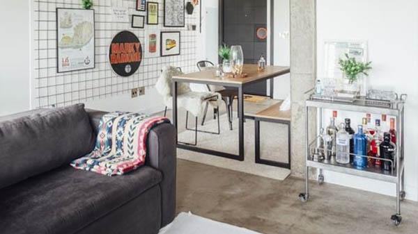 Thủ thuật làm cho nội thất ngôi nhà đơn giản trông rộng hơn