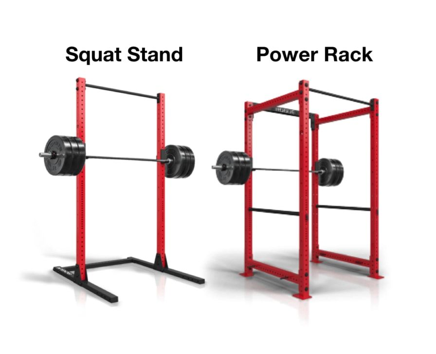 how squat stand and squat cage vary