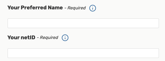 25Live - Preferred Name and Net ID Fields