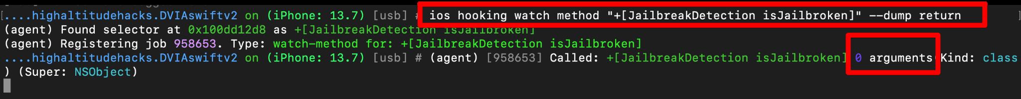 ios hooking watch method