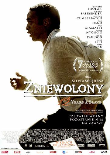 Przód ulotki filmu 'Zniewolony. 12 Years A Slave'