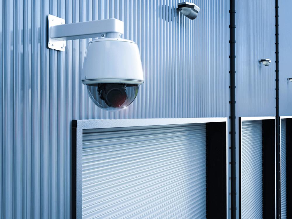 camera giám sát xưởng sản xuất đang giai đoạn hoàn thiện dùng camera quan sát hikvision