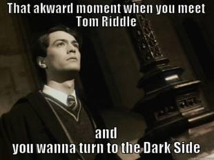Harry Potter humor - Tom Riddle