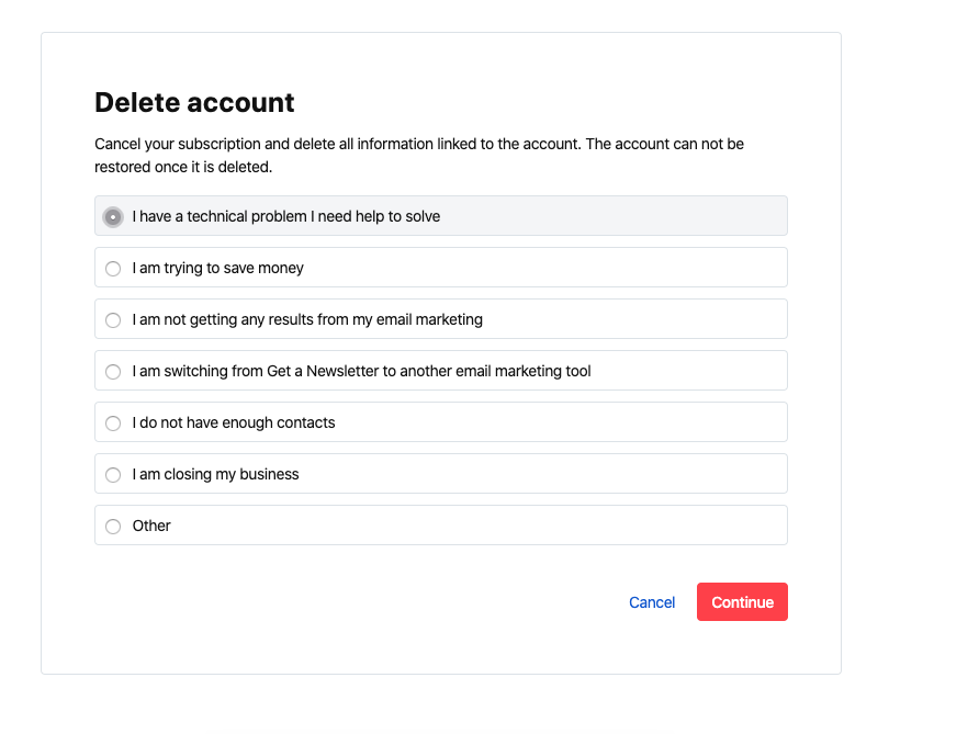 Product Activation Rate Optimization exit interview