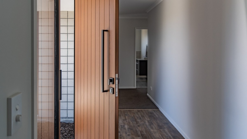Front doors that make an entrance