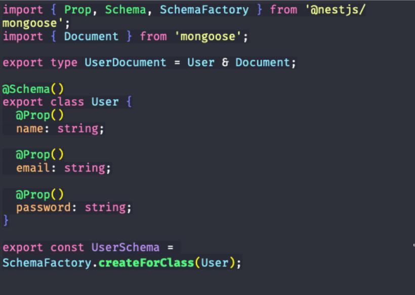 código de edição de arquivo para aplicação de NestJS