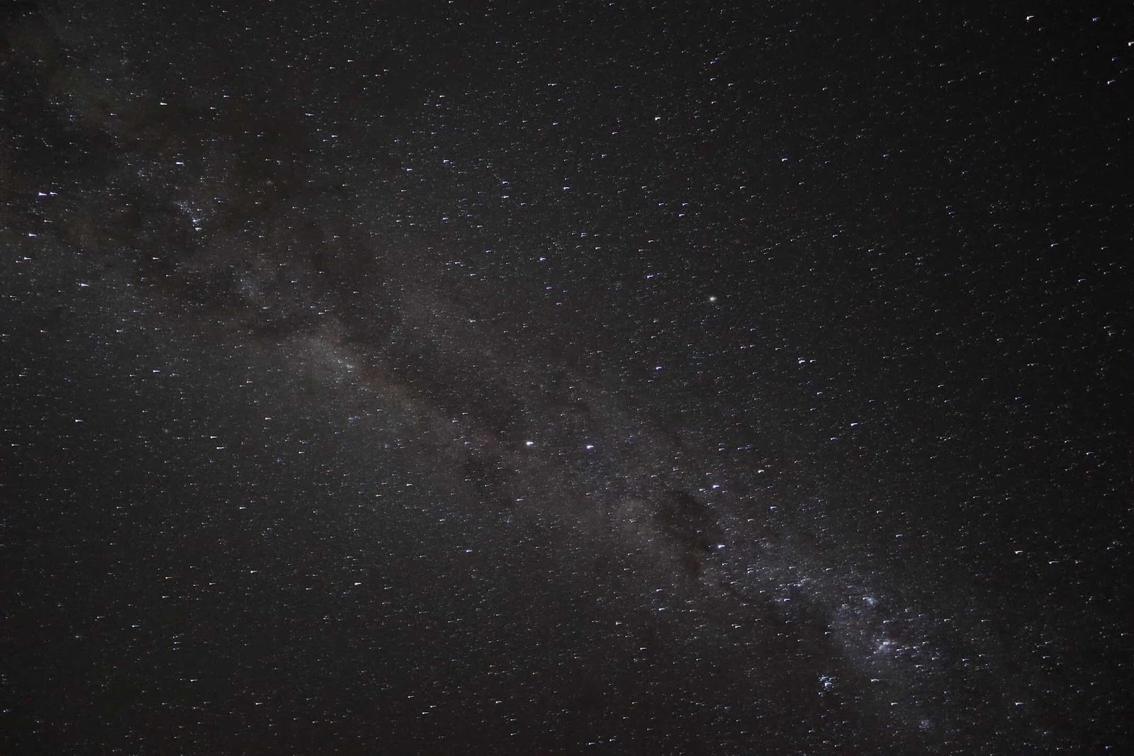 Milky Way, with dark patches, as seen from Atacama Desert, 200mm, 30 seconds (Source: Palmia Observatory)