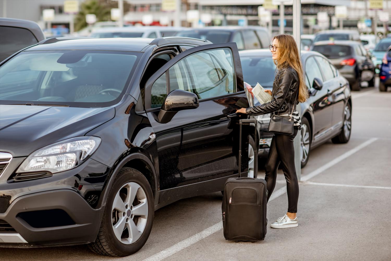 Recoge tu coche de alquiler en el aeropuerto